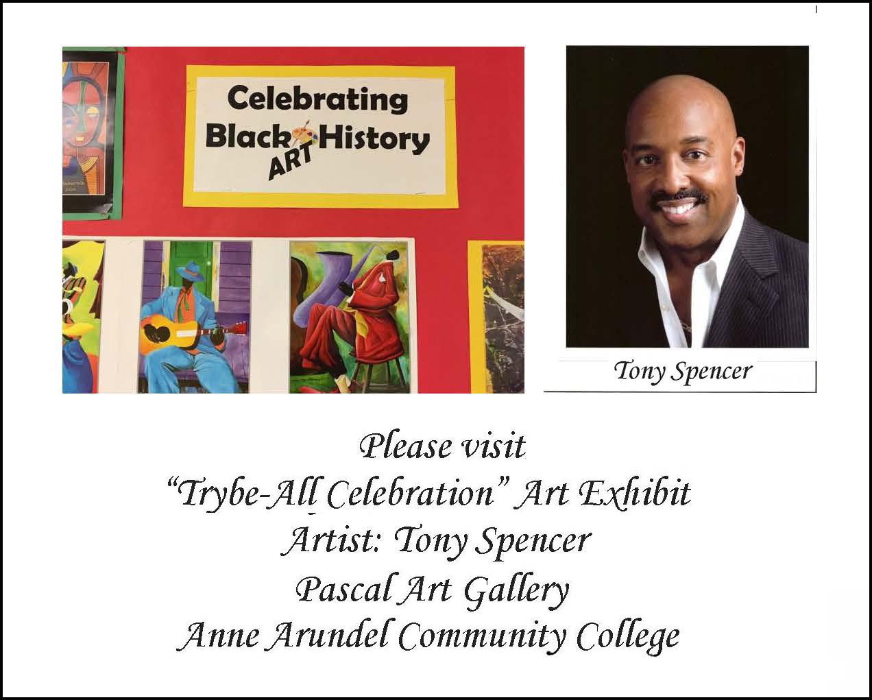 Tony Spencer Trybe-All Exhibit